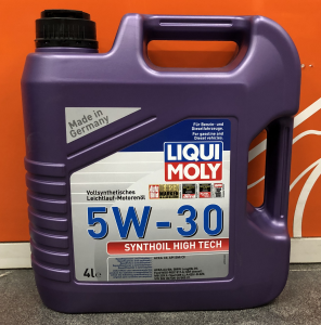 Масло моторное Liqui Moly Synthoil High Tech 5W-30 синт. API SM/CF 4л