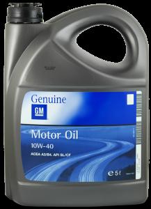 Масло моторное GM Semi Synthetic 10W-40 п/синт. API SL/CF 5л