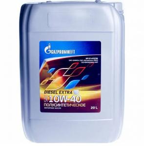 Масло моторное Gazpromneft Diesel Extra 10W-40 п/синт. API CF-4 20л