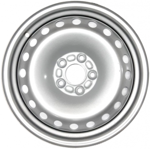 Диск стальной 16x6,5 5x108 ET50 DIA 63,3 SWORTECH S604 Silver