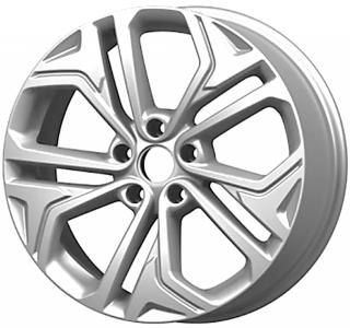 Диск литой 18x7,5 5x114,3 ET49,5 DIA 67,1 Remain R205 Сильвер (18 Hyundai SantaFe)